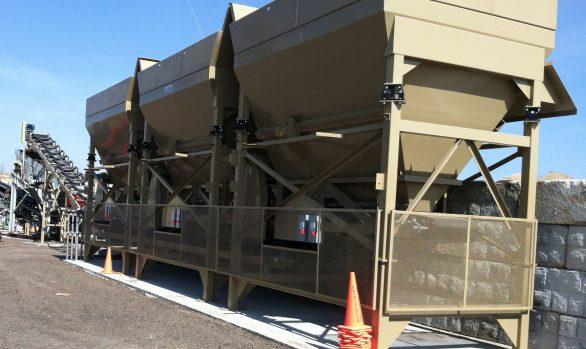 Recycled Asphalt Pavement Bin